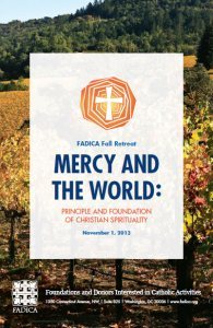 Mercy and the World: Principle and Foundation of Christian Spirituality